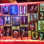 Faces bar caricatures