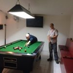 Pool room at Sport bar Ban Chang