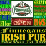Finnegans Ban Chang Road sign