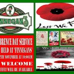 Poppy day at Finnegans